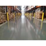 aplicação epóxi piso industrial