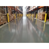 aplicação epóxi piso industrial Santa Branca