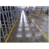 lapidação em piso industrial Santo André