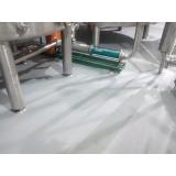 loja de piso industrial branco Alphaville Industrial