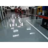 piso epóxi para garagem Guararema