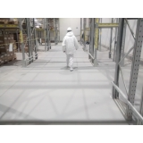 piso industrial branco Suzano