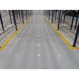 piso para área industrial Guararema