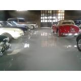 piso resina autonivelante Santa Branca