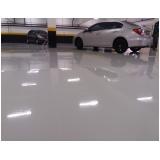 piso autonivelante garagem