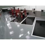 revestimento epóxi para piso industrial GRANJA VIANA