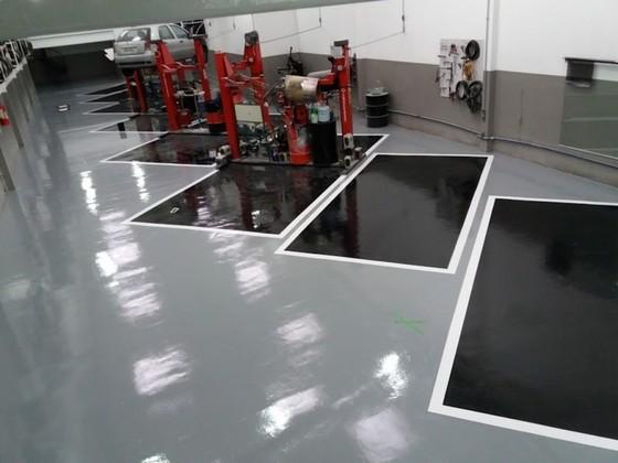 Venda de Piso Epóxi para Garagem ALDEIA DA SERRA - Piso Epóxi Cozinha Industrial